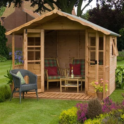Sussex Sheds by 10 X 8 Waltons Sussex Wooden Summerhouse