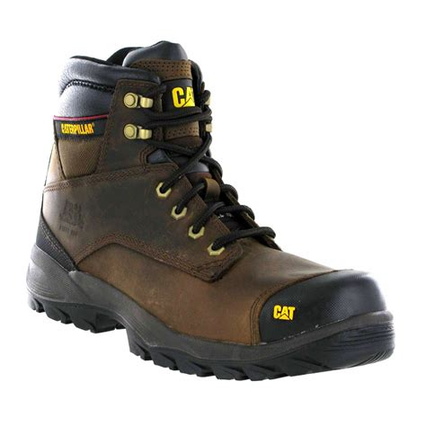 Caterpillar S7 Safety Boot caterpillar spiro srx brown leather s3 mens safety work boots