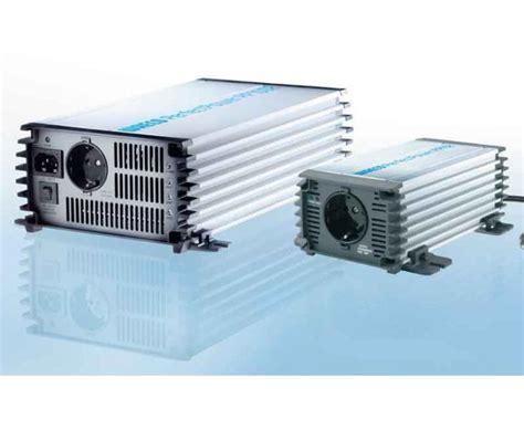 verlichting wandlen waeco perfectpower wechselrichter 12v 230v und 24v 230v