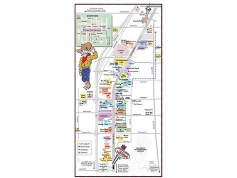fremont las vegas map photo