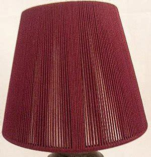Burgundy L Shade by 6 Burgundy Chandelier Or Candle Lights Clip On L