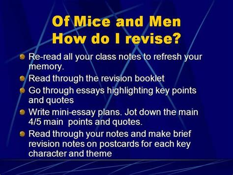 Of Mice And Themes Essay by Of Mice And Loneliness Theme Essay
