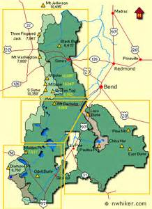 oregon national forest map deschutes national forest