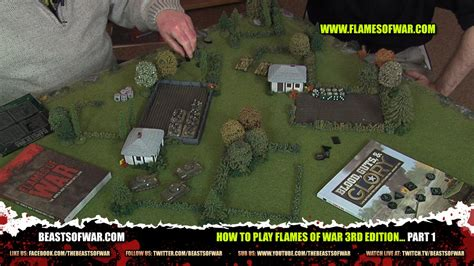 how to play war how to play flames of war 3rd edition part 1