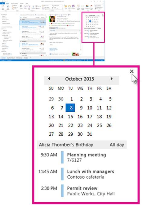email membuat janji membuat janji dan rapat yang akan datang selalu terlihat