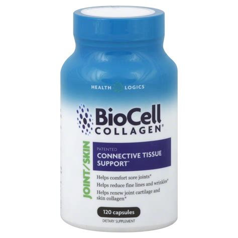Collagen Skin Natures Health health logics biocell collagen joint and skin care 120 capsules jet