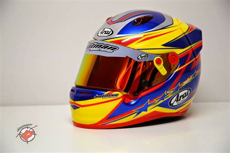 Helm Arai Racing Racing Helmets Garage Arai Gp 5 J Doohan 2014 By Antman