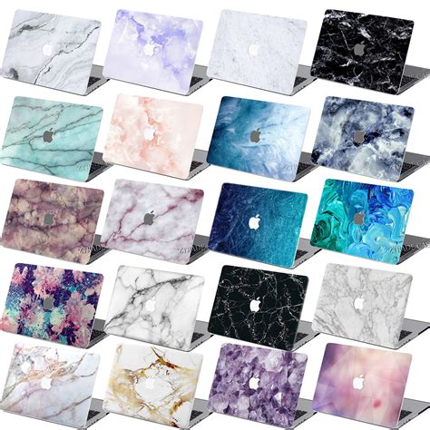 Hardcase Macbook Pro 13 15 Bening Transparant Cover Casing rubberized marble cover for macbook air 11 pro