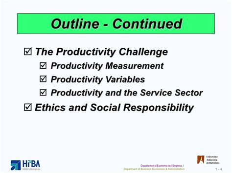 productivity the difference books operations and productivity