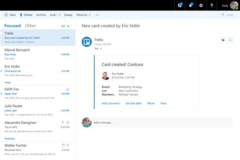 microsoft bringing office 365 connectors to outlook on the