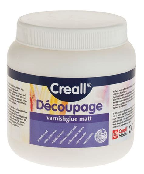 Best Varnish For Decoupage - decoupage matt varnish glue 250ml opitec