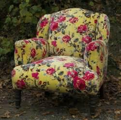 lime velvet floral armchair patchwork furniture
