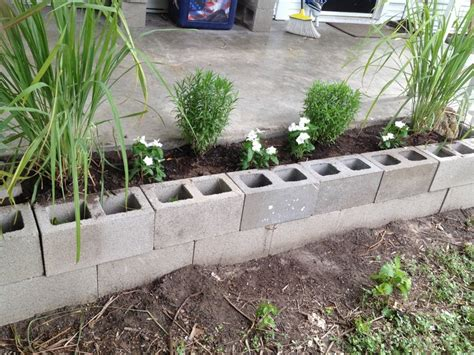 cinder block flower bed cinder block flower bed 28 images pin by sonja on