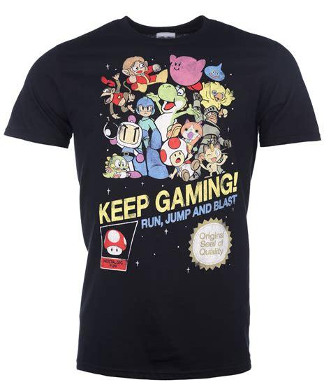 Keep Gaming s keep gaming black t shirt