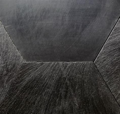 ardesia piastrelle esagoni in ardesia ligure nera hometr 232 schic