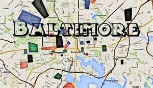 map of baltimore hoods