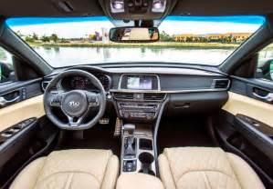 Kia Optima Interior 2017 Kia Optima Lx Features Greater Engine More Advance