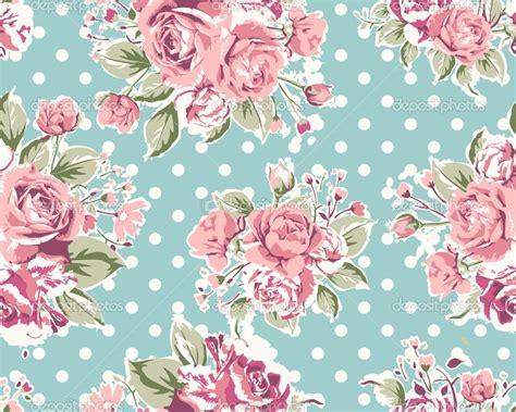 pattern flower pink green floral wallpaper on wallpaper seamless vintage pink