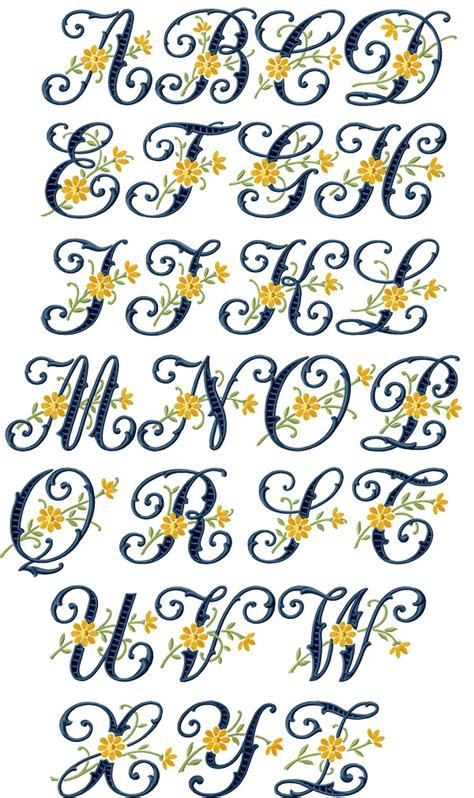 free printable alphabet letters for embroidery floral cutwork alphabet