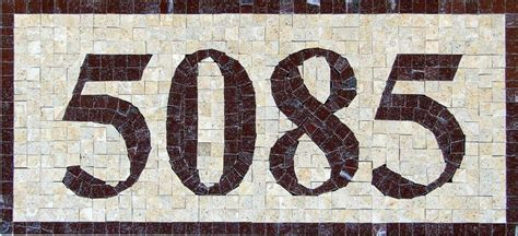 mosaic designs for house numbers mosaic house number designs house design