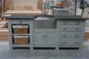 Corner Kitchen Sink Unit - free standing kitchens handmade kitchens kitchen furniture supplier bespoke kitchens