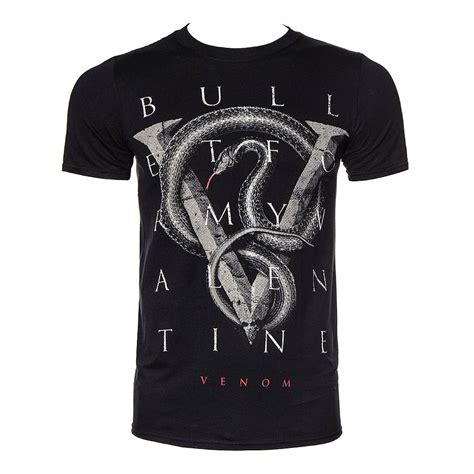 Tshirt Metal Jagal Original Merch by Official T Shirt Bullet For My Black V For Venom