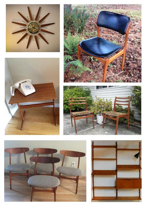 used mid century modern furniture used ca best vintage mid century modern teak furniture