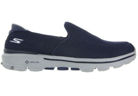 sketcher shoes new skechers go walk 3 mens comfortable shoes ebay