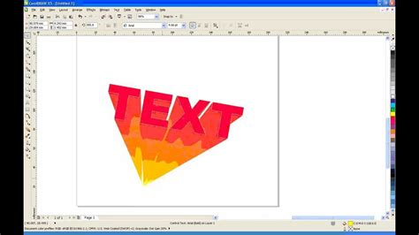tutorial hand lettering corel draw corel draw x5 tutorial blend tool full free video new