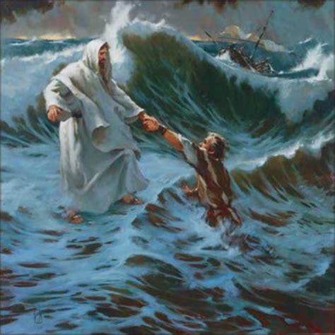 my god walks on water dear pastor andy peter walks on water