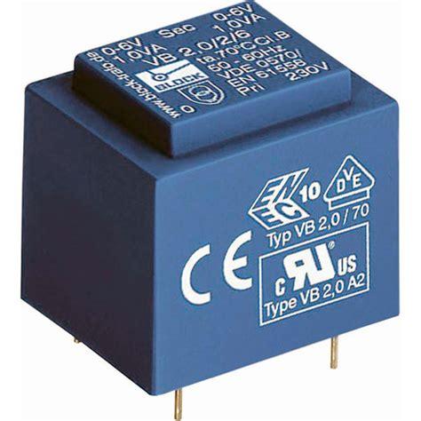 Trafo 5a Era block vb 1 5 1 9 pcb mount transformer 1 5va 9v 166ma