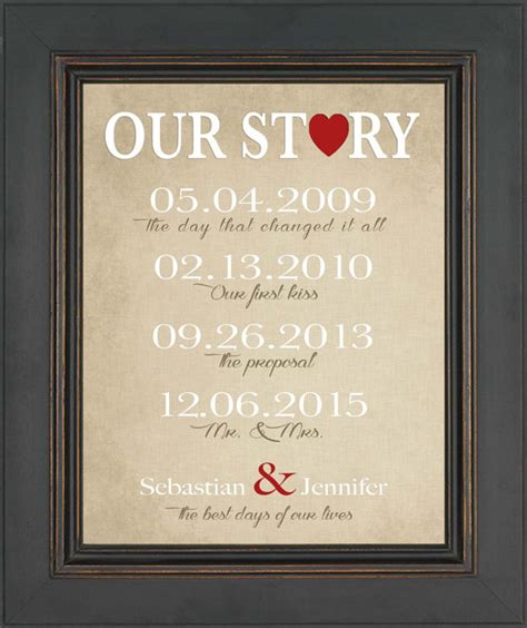 first anniversary gift for husband or wife wedding gift for