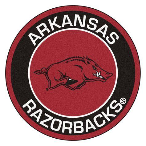 Arkansas Razorback Home Decor by University Of Arkansas Razorbacks Logo Roundel Mat 27 Quot