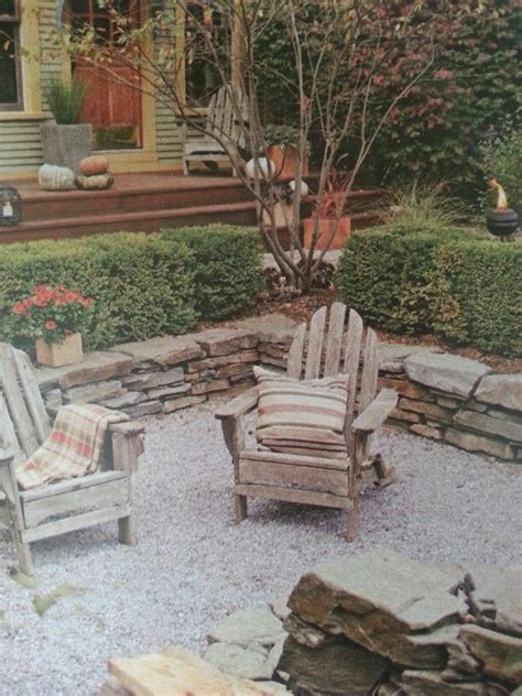 Fire Pit Area Outdoors Pinterest Firepit Area