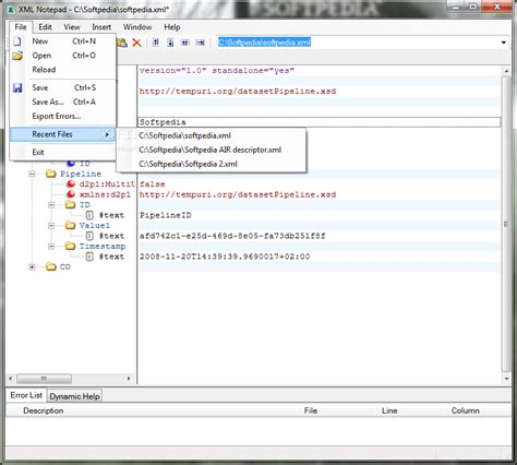 xml layout notepad download microsoft xml notepad 2007 2 5