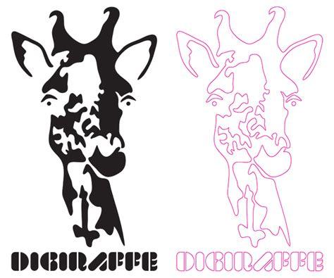 giraffe pattern wall stencil giraffe pattern stencil
