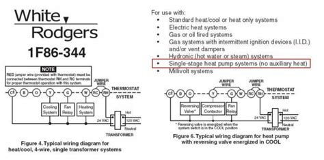 white rodgers thermostat wiring diagram 28 images