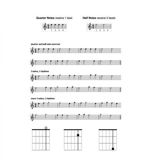 Sheet Music Template Shatterlion Info Guitar Tab Template Excel