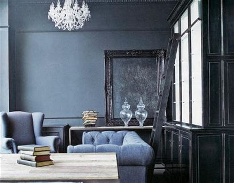 Steel Blue Living Room by This Is The Color I Want To Paint Bedroom A Sort Of