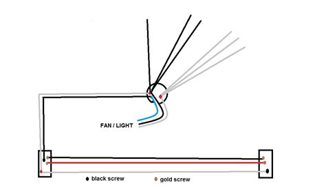 How To Wire A Ceiling Fan With 4 Wires by I Replaced A Ceiling Fan With A Light With Another Ceiling