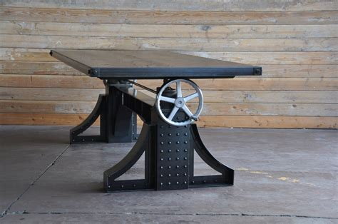 Bronx Industrial Dining Table by Vintage Industrial