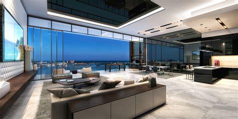 Kitchen Design Houzz by Luxury Penthouses Echo Brickell