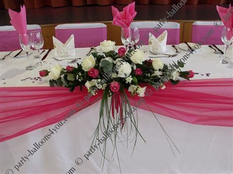 Party Table Centerpieces   Wedding Stage and decorations