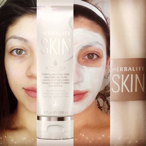 Masker Herbalife herbalife skin purifying mint clay mask info go to www