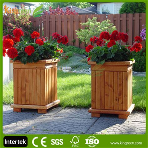 Proof Outdoor Planters by Outdoor Water Proof Professional Wpc Flower Box Wood
