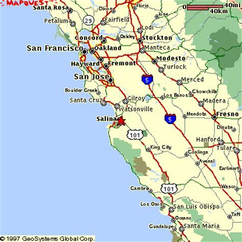 map monterey ca monterey california