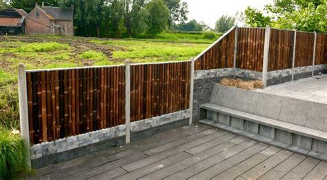 warna natural transparan pagar bambu tahan  cat kayu