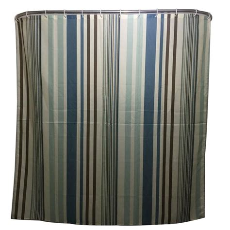 Simple Shower Curtains Striped Family Bathroom Shower Curtain Simple Polyester