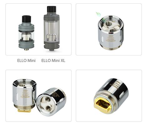 Eleaf Hw2 0 3ohm Replacement Spare Parts סלילי החלפה Eleaf Hw2 Dual Cylinder For Ello Series 0 3ohm 5pcs סלילי Eleaf סלילי