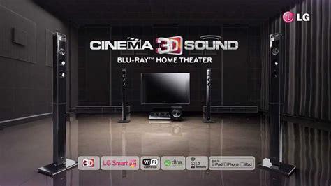 lg bh cinema  sound home theater youtube